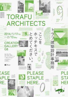 Torafu Architects poster