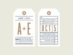 Anne + Erik Wedding - RSVP Card