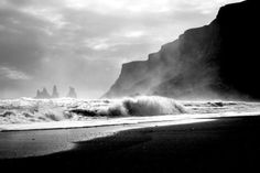 Wave - Photo processed with http://www.polarfox.com #inspiration #white #photo #black #wave #photography #and #beach #photographer
