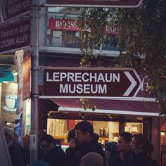 Leprechaun Museum #dublin #temple #ireland #bar #irish #leprechaun #funny