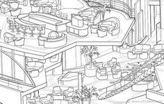 Adobe Illustrator Tutorial: Advanced Vector Cutaway Ship Illustration #illustration #vector