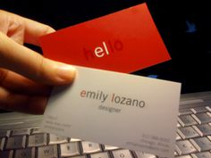 lozano bizcard #card #businesscard #branding