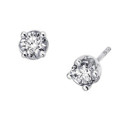 At any occasion, be it formal or casual, make your look more bold and trendy with diamond stud earrings. Diamond studs are known to be elegant and timeless pieces of jewellery that fit all occasions and compliment every outfit. These jewellery pieces are made of Canadian diamonds. They will surely be a staple of your jewellery case which you can cherish your whole life.