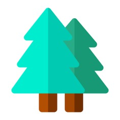 See more icon inspiration related to tree, forest, ecology and environment, pines, trees, woods, landscape and nature on Flaticon.