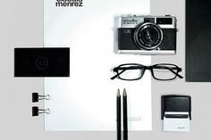 Claudia Menrez™ on the Behance Network #branding #design #minimalism #brand #identity #logo #typography