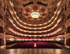 Perfectly Symmetry of Grand Theaters by Gilles Alonso
