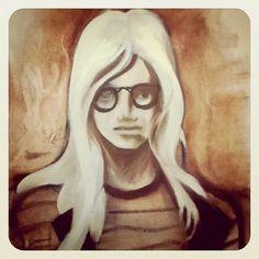 Instagram #pannel #paint #illustration #painting #canvas #oil