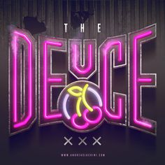 """""""The Deuce"""" #thedeuce #70s #neon #neonsign #nyc #xxx #typography"""
