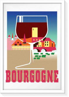 Bourgogne Vintage Ad