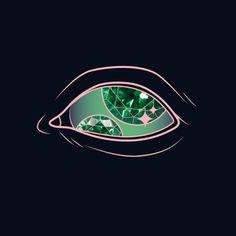 Sparkling Eye by Maria Umiewska