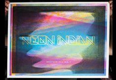 Portfolio of Austin Dunbar #indian #screenprint #neon