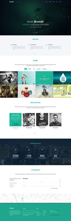 Brandi : Free Business Bootstrap Template
