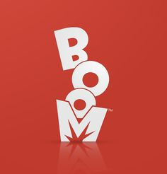 Boom Logo and Identity #logo #identity