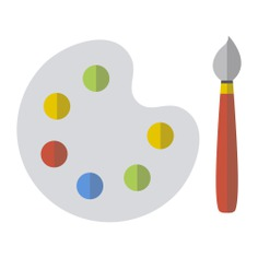 See more icon inspiration related to art, artist, painting, painter, paint palette, artistic and art and design on Flaticon.
