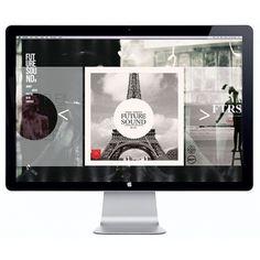 FTR/SND WEBSITE on the Behance Network