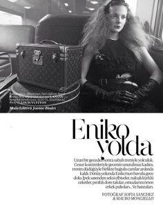 Eniko Mihalik by Sofia Sanchez and Mauro Mongiello #fashion #photography #inspiration