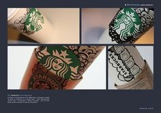 09_ Starbucks on the Behance Network #coffee #illustration #design #starbucks