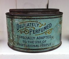 Vintage Flea Market Finds - TheDieline.com - Package Design Blog #print #typography #vintage #packaging #tins