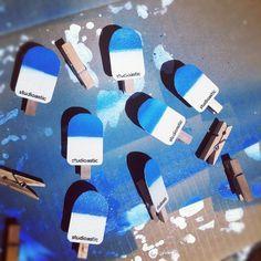 studioastic_waescheklammern_eis.jpg (JPEG Image, 1000×1000 pixels) #studioastic #handcraft #pin #cloth #clothespin #popsicle #ice