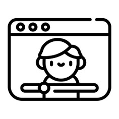 See more icon inspiration related to vlog, vlogger, video, influencer, youtuber, video player, communications, social media, youtube, interface, internet and people on Flaticon.