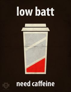 Low Batt on the Behance Network #coffee
