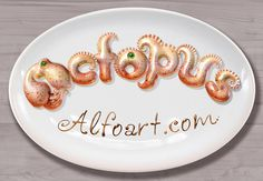 Learn how to create 3d octopus text effect. This Adobe Photoshop tutorial teaches how to apply octopus skin texture and light reflections to #letters #tentacle #tutorial #octopus #food #sea #3d #pohotoshop