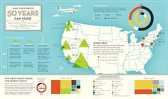Format, color scheme #usa #infographics #aircraft #map
