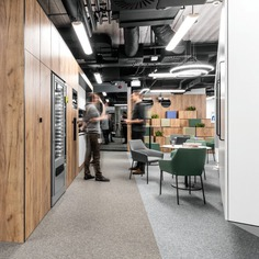 IT Mocny Office Space by ZONA Architekci in Poznań, Poland 1