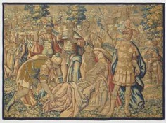 TAPESTRY of Flanders (Brussels), 1. Half of the 17. Century