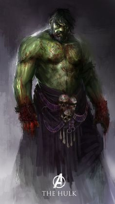 Best Redesign Superheroes of The Hulk #character design #superheroes
