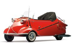 Messerschmitt KR200 Kabinenroller #messerschmitt #red #cabriolet #car #german