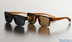Yes Man Sunnies: Affordable, Stylish, Handmade Sunglasses #tech #flow #gadget #gift #ideas #cool