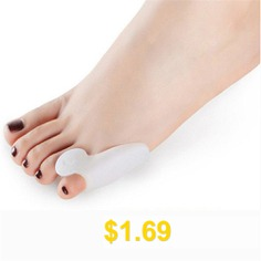 New #Toe #Valgus #Orthosis #Suite #Split #Three #Toe #Valgus #Care #Silicone #Insole #- #WHITE