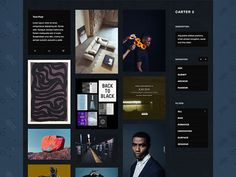 Carter : Free Customizable Tumblr Theme