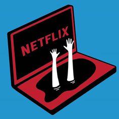 Netflix marathon... #netflix #marathon #tv #tvshow #illustration
