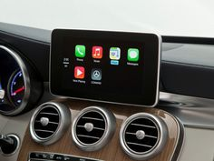 Apple CarPlay brings the popular iOS into the dashboard of your car, making your iPhone a central component of your driving experience. #design #product #dashboard #industrial #ios #car