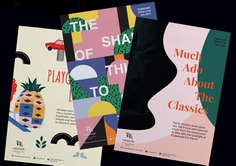 Thematic Monthly Brochures For Esplanade What's On on Behance