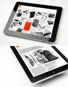 Tumblr #ipad #portfolio #design #website #app #layout