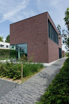 leibal_houselv_arealarchitecten_4 #brick #architecture #houses #facades