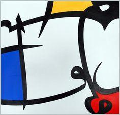Picture 25 « Calligraphy | Majid Alyousef :: Calligrapher & Designer #mondrian #calligraphy #modern #arabic #colours