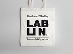 Laboratorio de Linguas #branding #lab #de #logo #la #fuente #bag #david #pencil