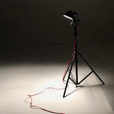 Studio #photography #light #tripod #dark