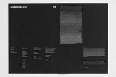 Archphoto 2.0 on Behance #book