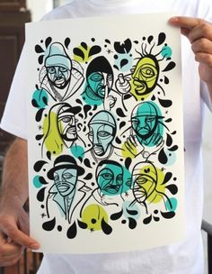 OMG Posters! » Archive » A Wu-Tang Art Print by Ruben Sanchez #ruben #print #sanchez #illustration #poster #tang #wu #giclee