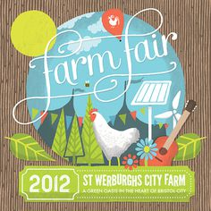 Farm Fair #design #graphic #illustration #st #farm #werburghs