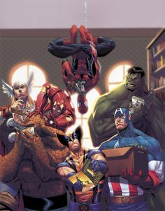 Avengers cover by ZurdoM on deviantART