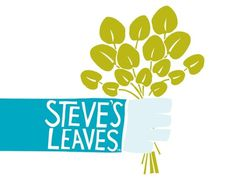 Sara Strand › Steve's Leaves #logo #identity