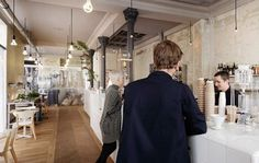 Dezeen » Blog Archive » Café Coutume by Cut Architectures #interior #architecture