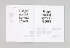 Neutral typeface research #typesetting