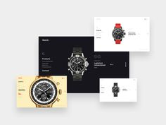 If you are a watch lover then you will gonna love this #creative template.